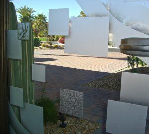 Glass Gates Etched Glass Contemporary Sans Soucie