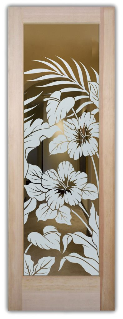 hibiscus anthurium interior or exterior doors