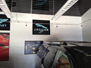 Sans Soucie Glass Signs Etched Glass Logos Jaguar