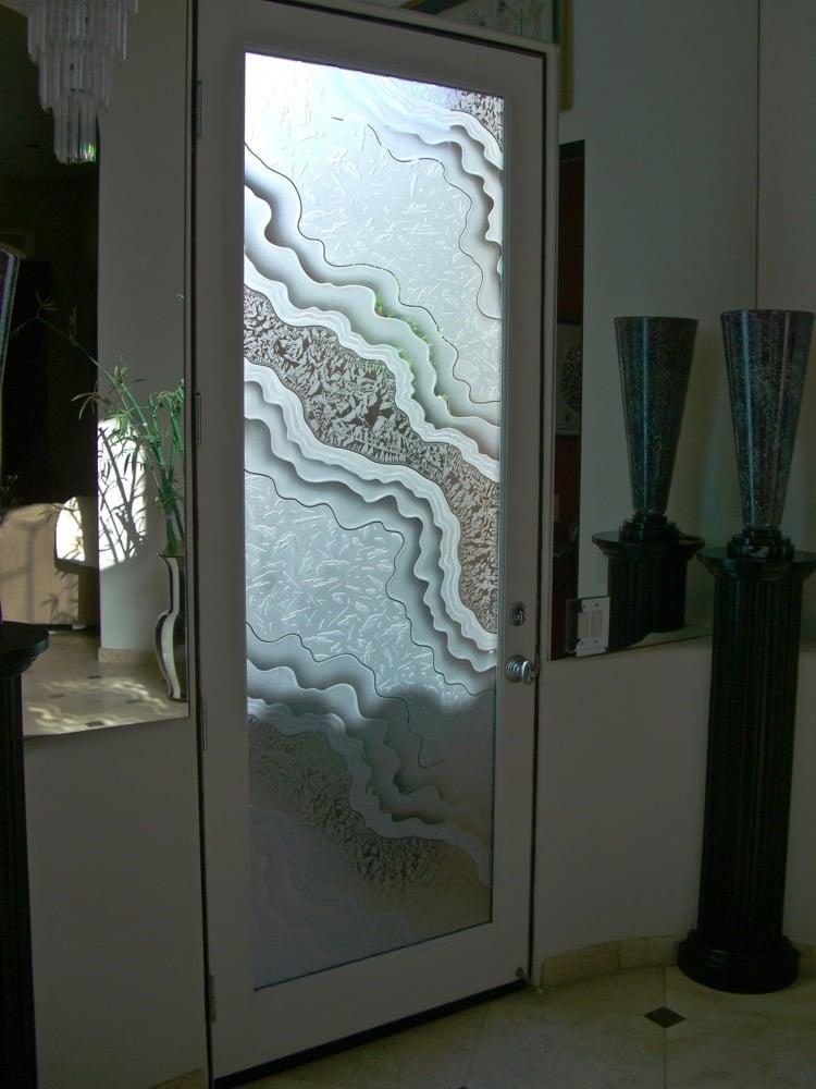 Metamorphosis 3d Gluechip Glass Entry Doors Sans Soucie