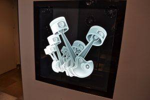 Sans Soucie Glass Wall Art Etched Glass Rustic