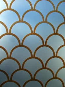 Sans Soucie Etched Glass Windows Carved & Painted Glass Patterns