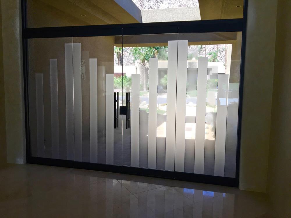 Towers 2d Bronze Frameless Glass Doors Sans Soucie Art Glass