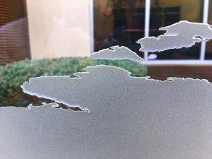 Glass Wall Art Sandblasted Glass World Map Sans Soucie