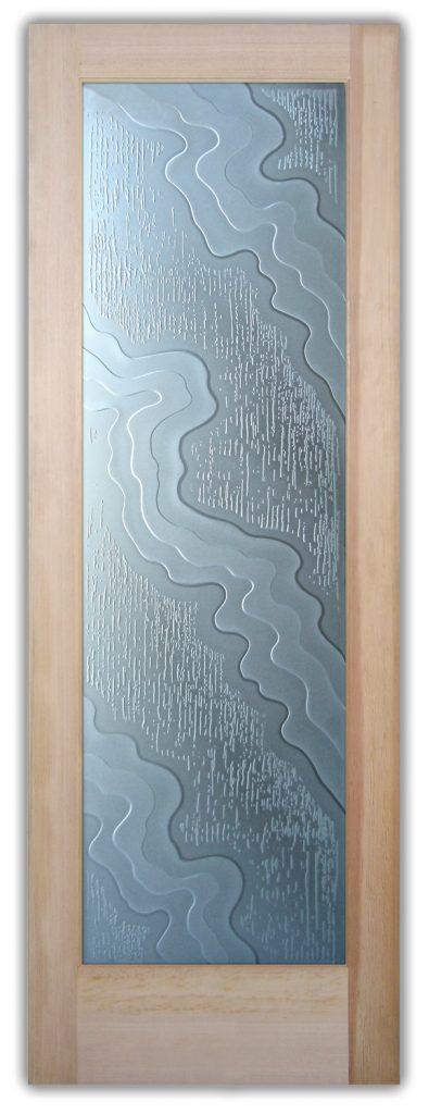 streams 3D interior glass doors