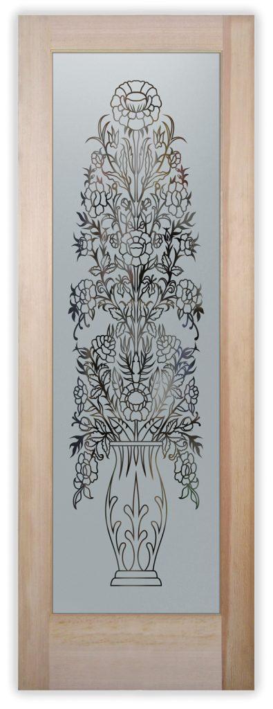 floral perch pantry door