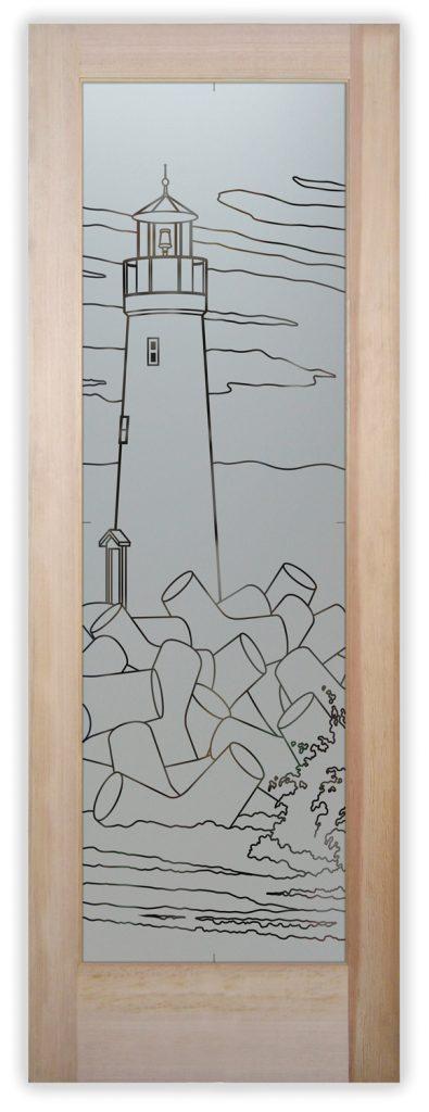 lighthouse pantry door