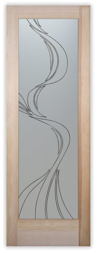 ribbon reflection pantry door