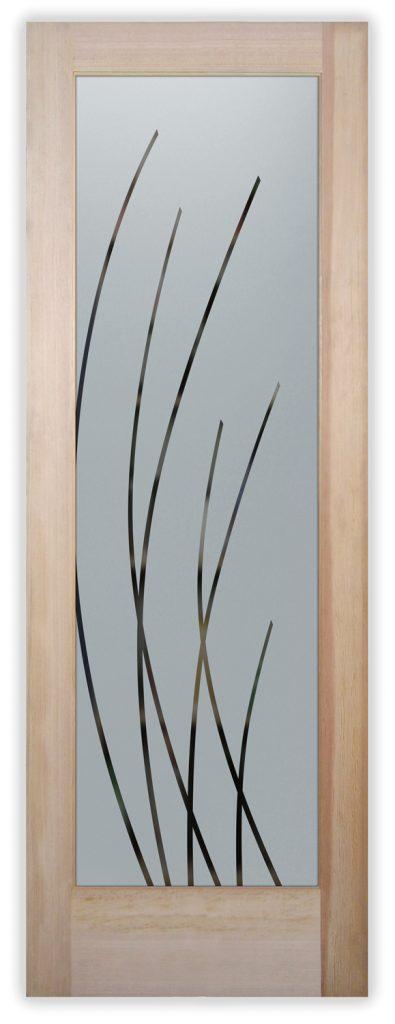 sleek arcs pantry door