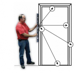 Installing a Sans Soucie Glass Entry Door