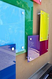 custom glass wall art sans soucie