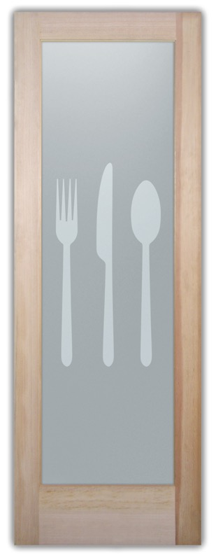 Pantry door etched glass flatware 1d private sans soucie