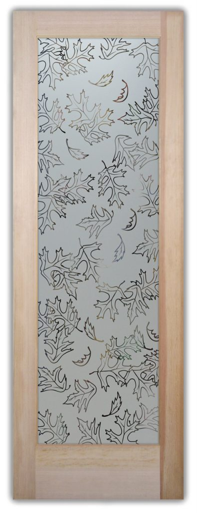 Pantry Door Etched Glass Rustic Design Sans Soucie