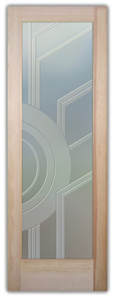 Sun Odyssey II 3D Private Etched Glass Door