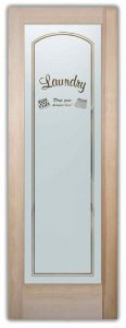 Sans Soucie Laundry Room Doors with Etched Glass drop your drawers