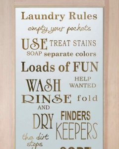 Sans Soucie Laundry Room Doors with Etched Glass rules