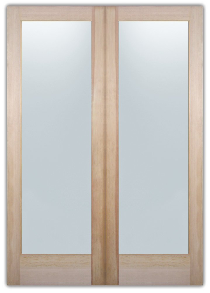 Frosted glass interior doors with glass by sans soucie for Interior doors with frosted glass panels