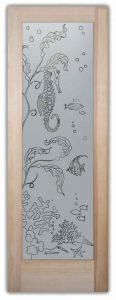 Glass Pantry Doors Frosted Glass Pantry Door Seahorse