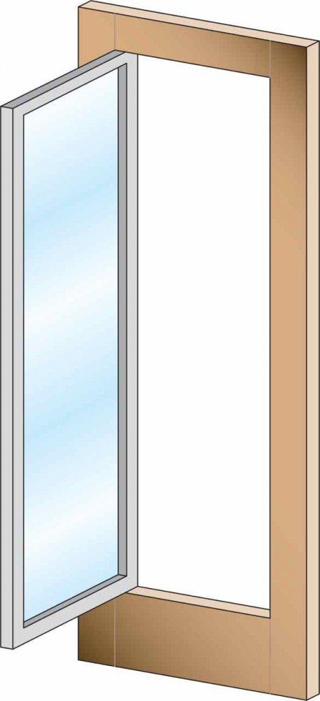 Door Style: Movable Glass \u2013 Combination French Door. «