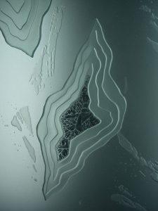 etched glass eclectic decor polar caps glacier sans soucie
