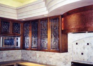 Sans Soucie Beveled Cabinet Glass Inserts