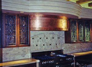 Cabinet Glass Inserts Beveled Glass by Sans Soucie
