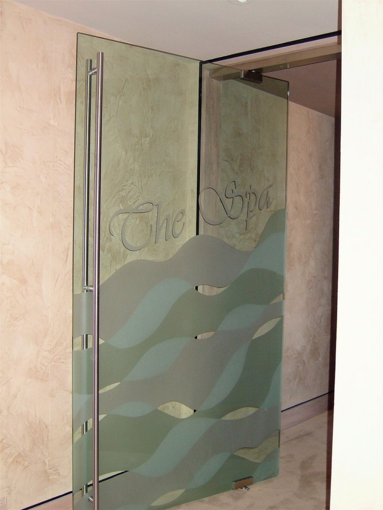 Sans Soucie Interior Frameless Doors With Frosted Glass Eclectic Waves