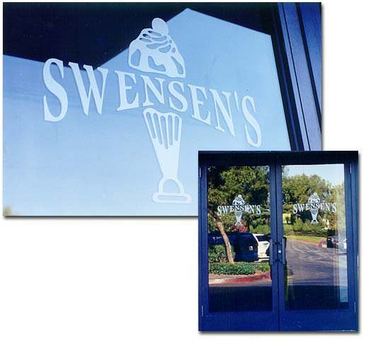 Entry Door Insert Panels with Etched Glass ice cream by Sans Soucie