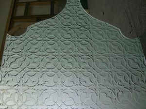 Door Insert Panels with Glass Carving by Sans Soucie