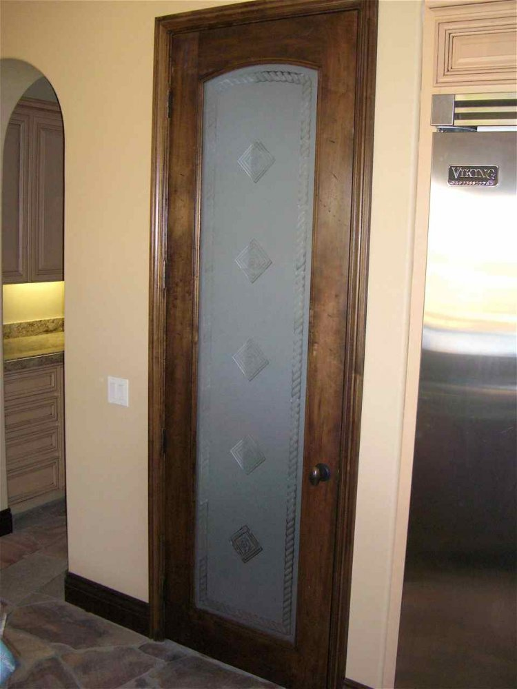 Door Pantry Etched Or Frosted Glass Designs By Sans Soucie