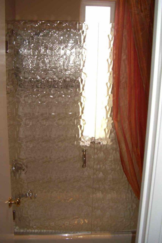 Crystal Glacier Shower Enclosure Sans Soucie Art Glass