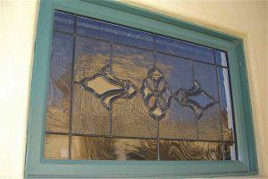 glass window custom glass traditional decor intricate flourishes bevel cluster sans soucie