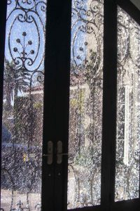 Exterior Door Inserts Shattered Glass by Sans Soucie