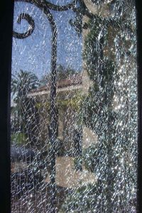 Entry Door Inserts Shattered Glass by Sans Soucie