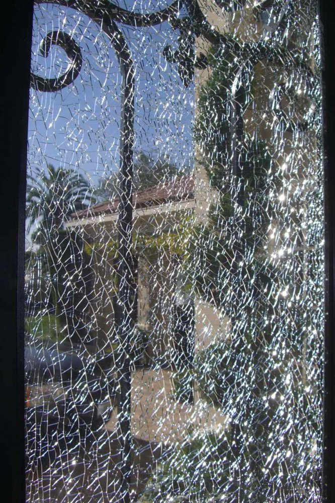 Shattered Glass Door Inserts Sans Soucie