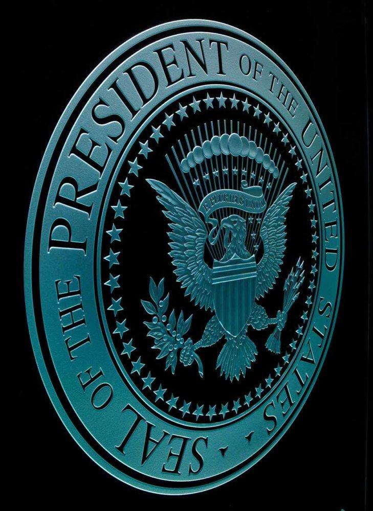 U S Presidential Seal Signs Sans Soucie