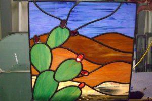 glass window beveled glass skies outdoors desert vista sans soucie