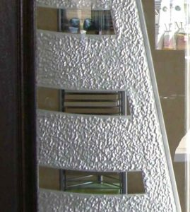 Sans Soucie Interior Door Inserts with Etched Glass