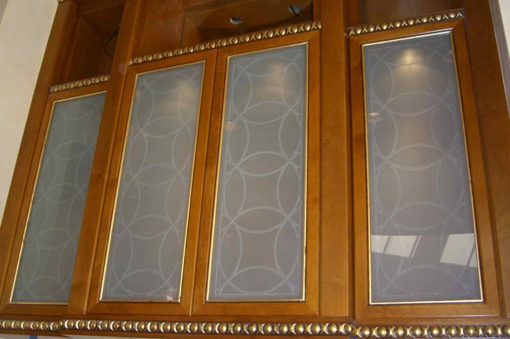 Circles Intersecting Cabinet