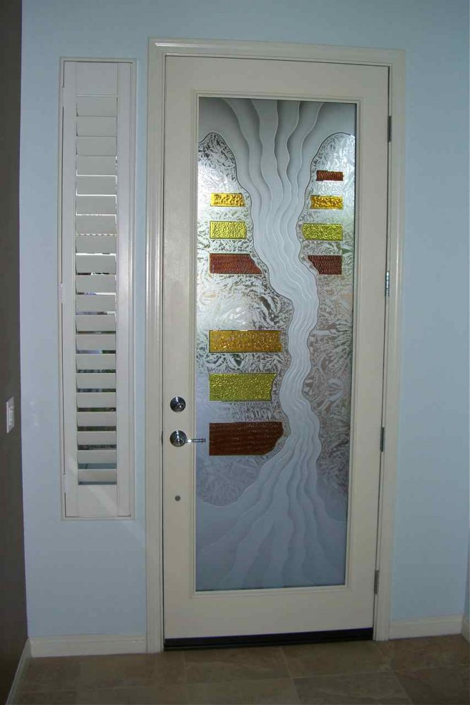 Breathtaking etched glass front door panels pictures ideas house triptic i 3d glass door inserts sans soucie planetlyrics Image collections