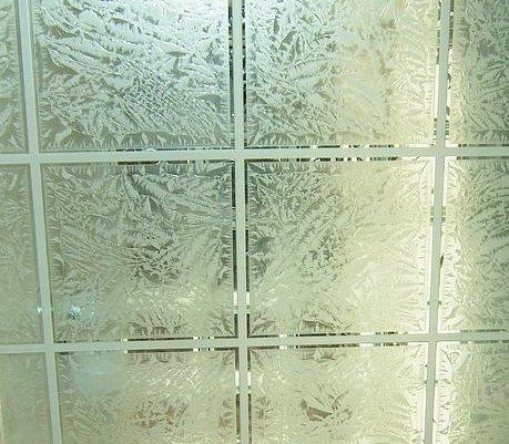 gluechip glass squares pattern
