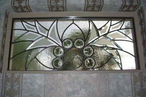 glass window beveled glass Moroccan decor geometric patterns arabesque bevel wings sans soucie
