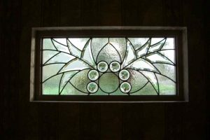 glass window stained glass Moroccan decor geometric shapes arabesque bevel wings sans soucie