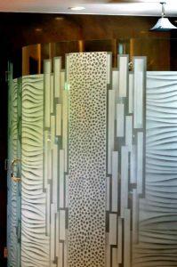 etching glass modern decor rectangles dots nokes sans soucie