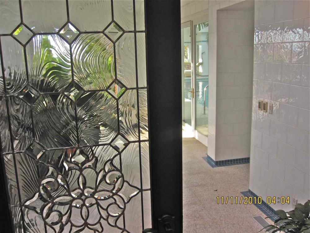 Bevel Clusters Entry Ii Glass Door Inserts Sans Soucie