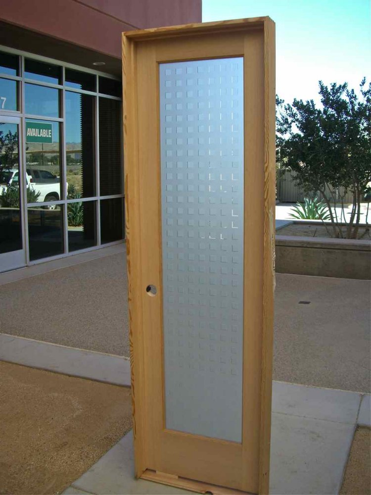 Squares Double Sided Glass Door Inserts Sans Soucie