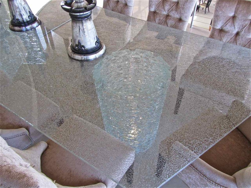 Shattered Glass Starphire 174 Clear 85x159 Sans Soucie