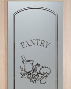 Glass Pantry Door Frosted by Sans Soucie