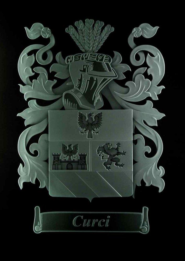 Curci Coat Of Arms Door Glass Inserts Sans Soucie