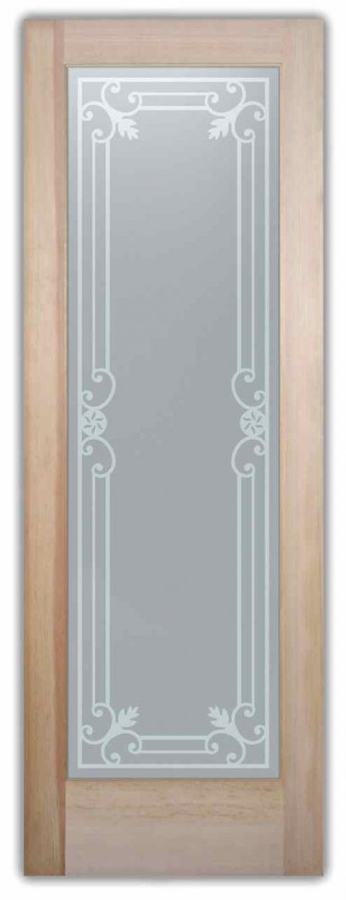 interior etched glass doors custom glass intricate iron bars miranda sans soucie